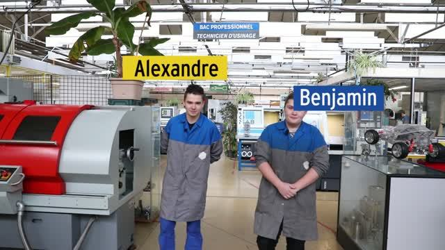 Bac pro technicien d'usinage thumbnail