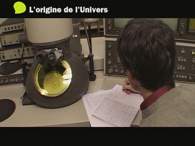 Chercheur en Sciences de l'Univers : l'origine de l'univers thumbnail