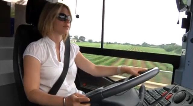 Video : Conductrice de voyageurs