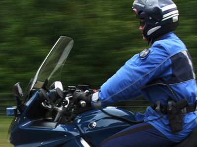 Video : Gendarme motocycliste