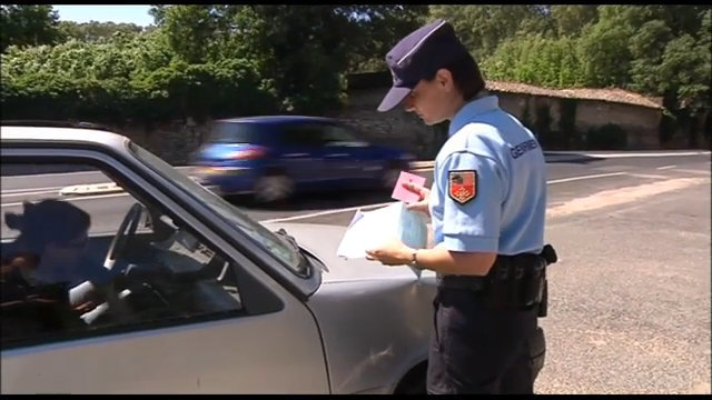 Video : Gendarme, Sandrine