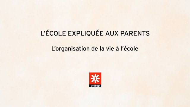 L'école expliquée aux parents-How life at school is organized thumbnail