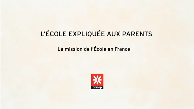 L'école expliquée aux parents - The roles and responsibilities of Schooling in France thumbnail