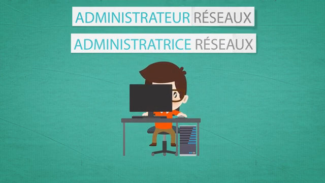 Video Les Mtiers Anims Administrateur Rseau Administratrice