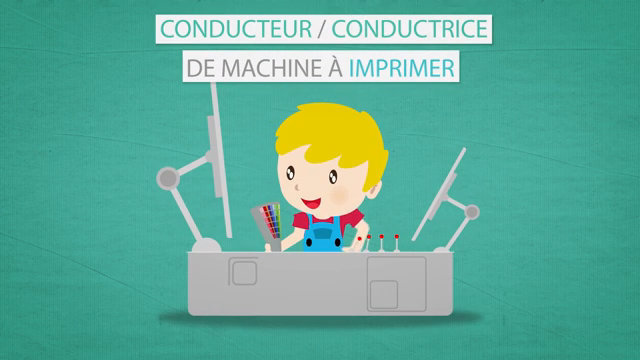 Video : Les Métiers Animés: Conducteur/Conductrice de machine à imprimer