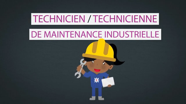 Les Métiers Animés: Techncien/Technicienne en maintenance industrielle thumbnail