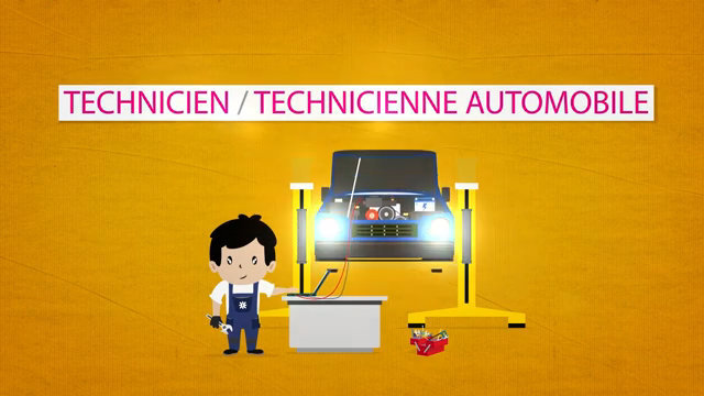 Les Métiers Animés: Technicien automobile/Technicienne automobile thumbnail