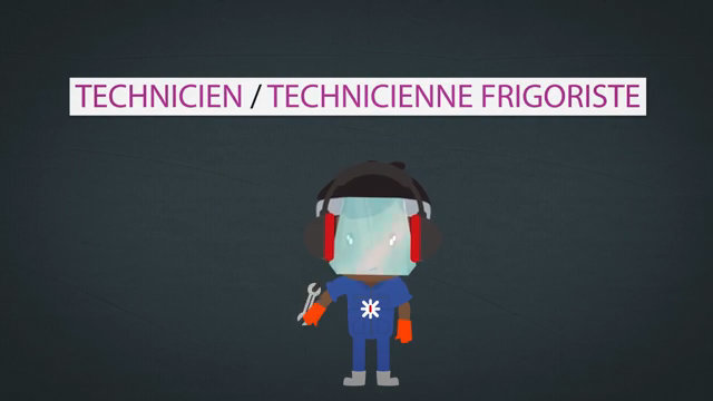 Video : Les Métiers Animés: Technicien frigoriste/Technicienne frigoriste
