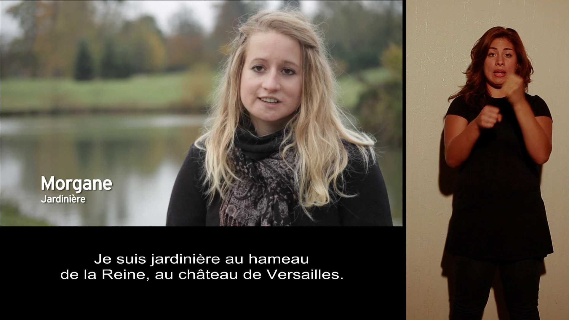 Morgane, Jardinière, version accessible LSF thumbnail
