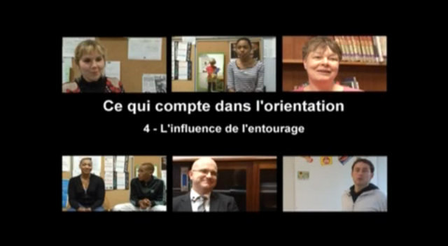Orientation 3e: L'influence de l'entourage thumbnail