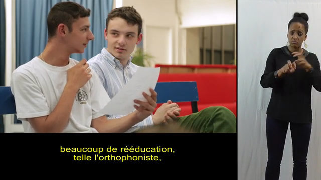 Paul, Apprenti en CAP Employé de vente spécialisé, version accessible LSF thumbnail