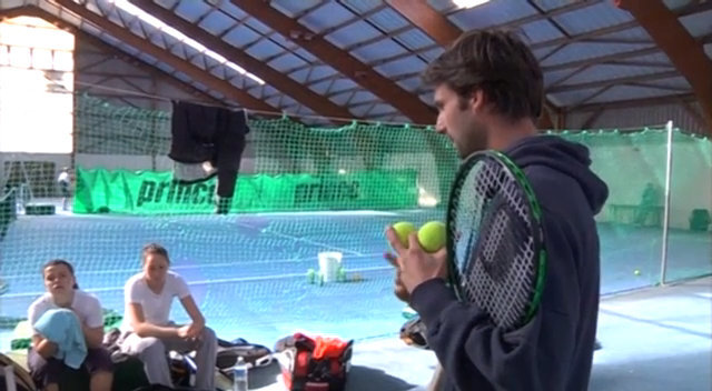 Video : Professeur de tennis