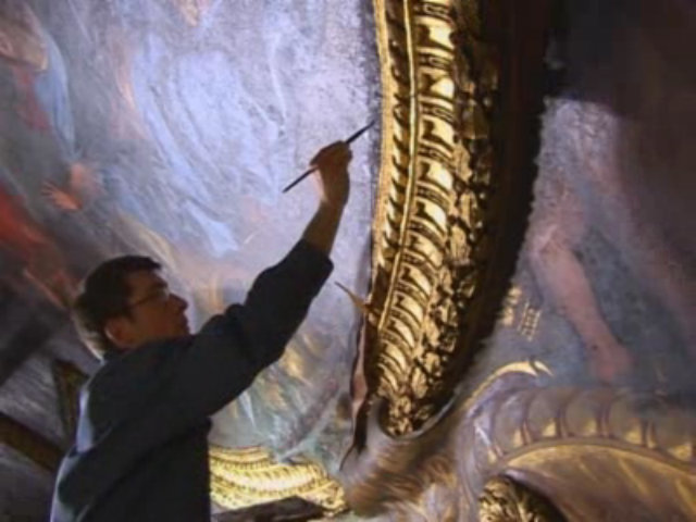 Video : Restaurateur de dorures