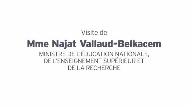 Salon Education- Mars 2016- Visite de Najat Vallaud Belkacem thumbnail