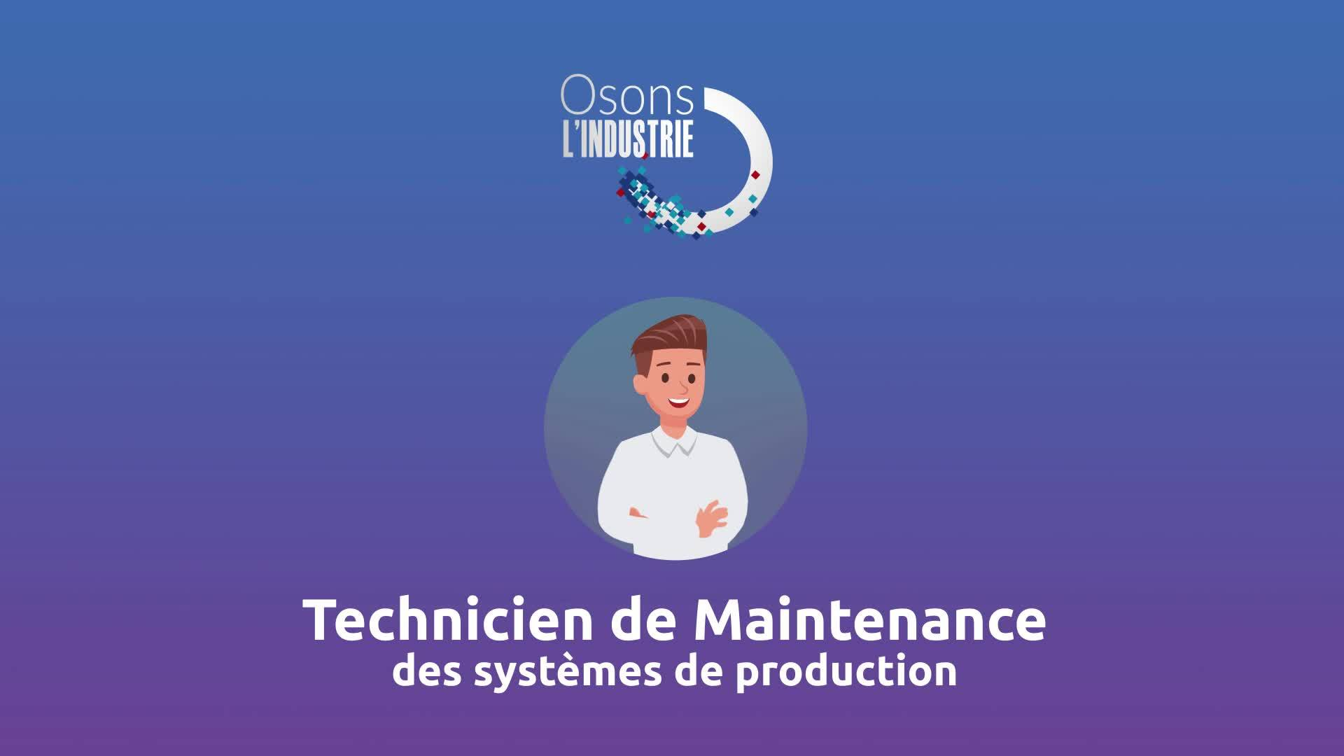 Technicien de maintenance dans l'industrie thumbnail